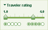 Slider rating control