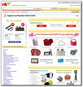 Case Study: eBay Customer-Centric Homepage