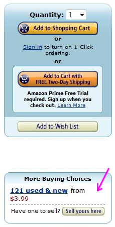 Ad for the Amazon marketplace