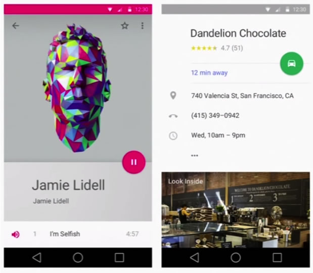 Visual Guide To Android L Material Design 7 Insights